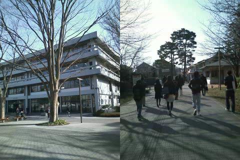 東京経済大学構内