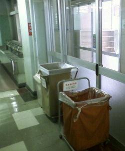 参議院選挙2010 放送大学のゴミ箱
